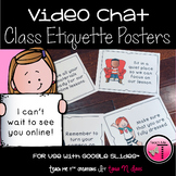 Virtual Learning Behavior Expectations Posters|Distance Le