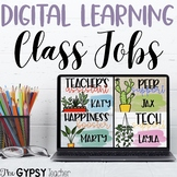 Virtual Learning Editable Classroom Jobs