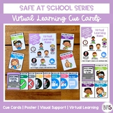 Virtual Learning Rules & Cue Cards | Safe at School Series
