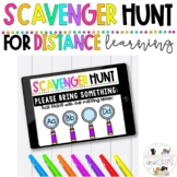 Virtual Learning Scavenger Hunts for Distance Learning