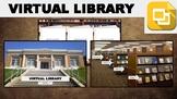 Virtual Library (Editable in Google Slides)