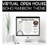 Virtual Meet The Teacher Open House PowerPoint with Google