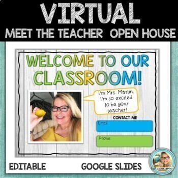 Virtual Meet the Teacher | OPEN HOUSE | Google Slides