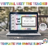 Virtual Meet the Teacher Templates/Virtual Open House for