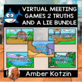 Virtual Meeting Games 2 Truths and a Lie Distance Learning