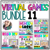 Virtual Meeting Games | Distance Learning | DIGITAL GAME |
