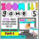 Virtual Meeting Games | Distance Learning | DIGITAL GAME | Proper Nouns