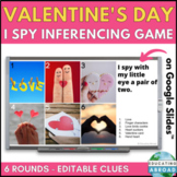 Virtual Meeting Valentines Day Party Game I Spy #10 | Digital Activity