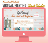 Virtual Meeting Wait Slides with Timer