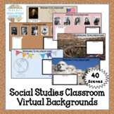 Virtual Meeting Zoom Backgrounds Distance Learning Social