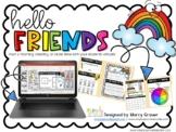 Virtual Morning Meeting Calendar Time Kit for PRE-K or Kindergarten