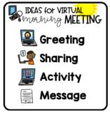 Virtual Morning Meeting Ideas for Distance Learning