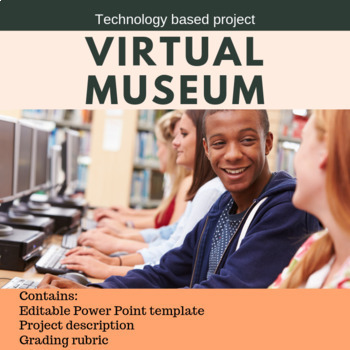 Virtual Museum Project Template By Cynthia Harbuck Tpt