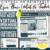 Virtual Open House - Digital Meet the Teacher - Distance L