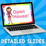 Virtual Open House – Distance Learning – Google Slides
