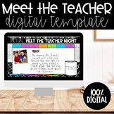 Virtual Open House/Meet the Teacher | Google Slides | Dunn Inspired
