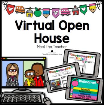 Virtual Open House Virtual Meet the Teacher (Google) | TpT