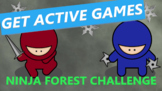 Virtual P.E. Game Video - Ninja Forest Challenge
