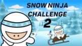 Virtual P.E. Game Video - Snow Ninja Challenge 2 - RSD Online