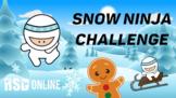 Virtual P.E. Game Video - Snow Ninja Challenge - RSD Online