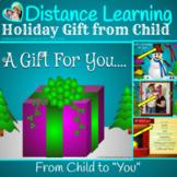 Virtual Parent Gift from Child to Parent Guardian Teacher for Google Slides TM