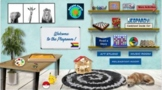 Virtual Playroom/Counseling Office--5 Room Bundle (2 Play + Art, Music, & Calm)
