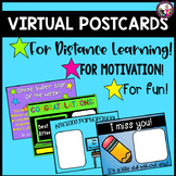 Virtual Postcards Editable Distance Learning for Use with