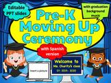 Virtual PreK Moving Up Ceremony   EDITABLE SPANISH VERSION