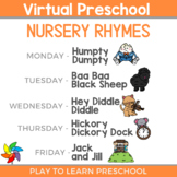 Virtual Preschool - Nursery Rhyme Circle Time