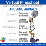 Virtual Preschool - Animals