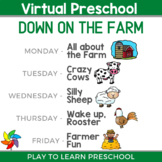Virtual Preschool - Down on the Farm