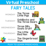 Virtual Preschool - Fairy Tale Circle Time