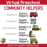 Virtual Preschool - Community Helpers Circle Time