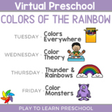 Virtual Preschool - Colors of the Rainbow