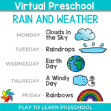 Virtual Preschool - Rain and Weather