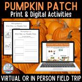 Virtual Pumpkin Patch Field Trip Guide for Google Slides™