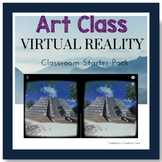 Virtual Reality Set-up Guide and Bundle of Activities for Art Class