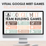 Virtual Relationship Building Google Meet and Zoom Games