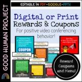 Reward Coupons & Menu | Digital or Print | Editable
