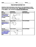 Virtual Scavenger Hunt -Volume of a cone, cylinder and sphere