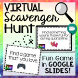 Virtual Scavenger Hunt for Zoom & Google Meet: Distance and Digital Learning