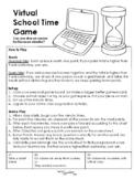 Virtual School Time Game Behavior Reward System