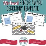 Virtual Senior Awards/Honors Day