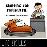 Virtual Shopping Trip Thanksgiving Pies Next Dollar up Money Math Activity