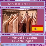 Virtual Shopping in Spain: Avancemos 1 4.1