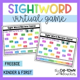 Virtual Sight Word Game