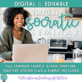 Virtual Socratic Seminar for Distance Learning {Digital &