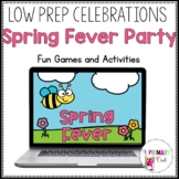 Virtual Spring Fever Digital Games Google Slides and PowerPoint
