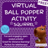 Virtual Squirrel Popper Interactive PowerPoint for Distanc