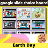 Virtual Student: The art Choice board, Earth Day activity